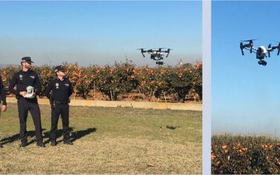 Vigilancia del término municipal de Algemesí con Drones