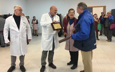 Reconocimiento por los 50 años de dedicacion en COPAL Cooperativa Agrícola de Algemesí
