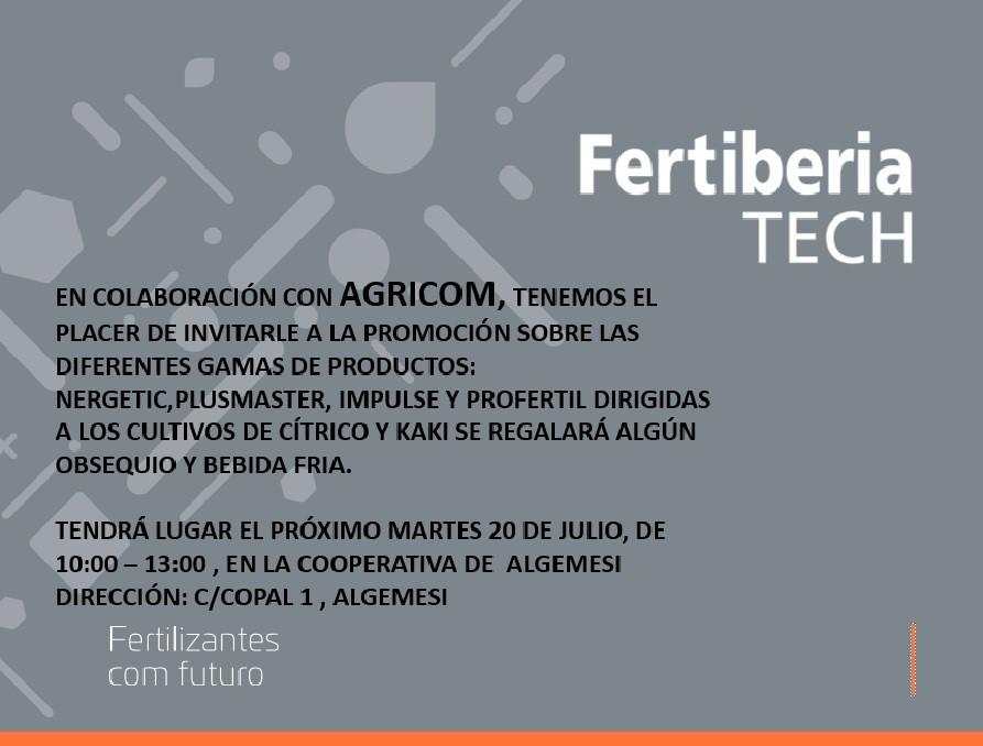 Fertiberia Tech y Agricom